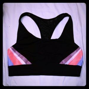 Victoria's secret pink super cute aports bra large